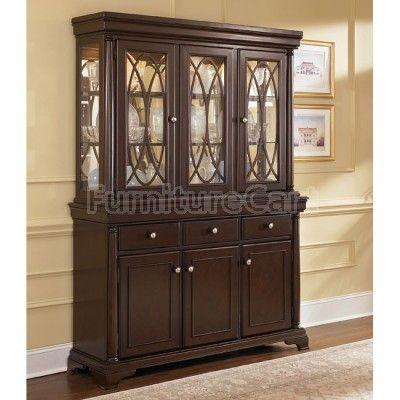 leighton china cabinet ashley furniture  Fine dinning