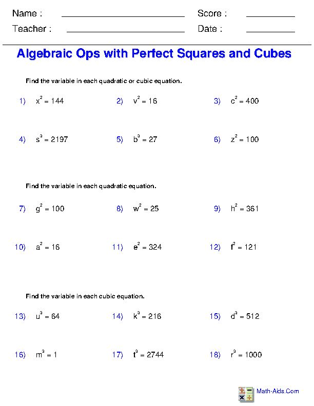 Solving Simple Equations With Radicals And Fractions