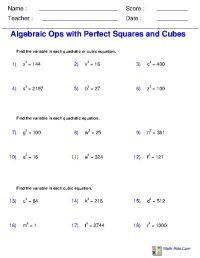 Solving Simple Equations With Radicals And Fractions ...