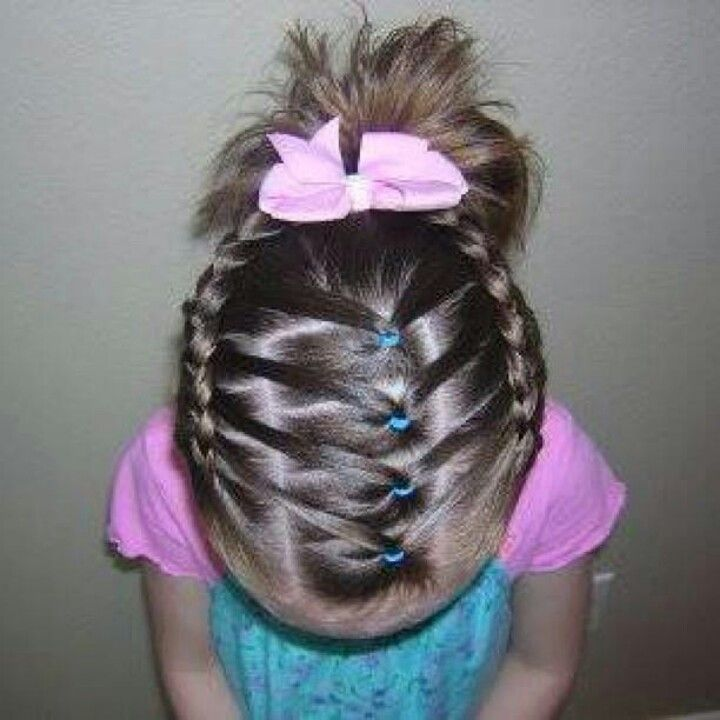 25 Best Ideas About Hairstyles For Toddler Girl On Pinterest