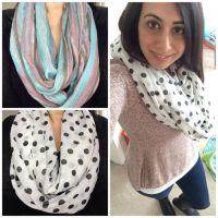 Infinity Scarves DIY   scarf love   Pinterest   DIY and ...