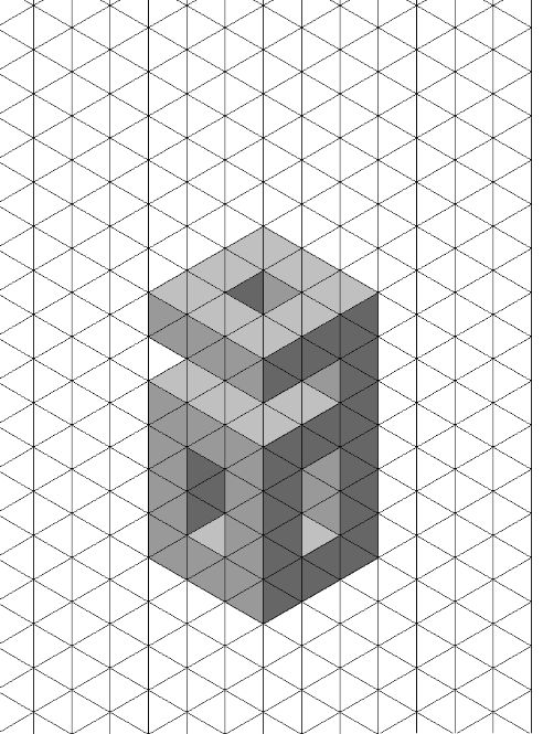 17 Best ideas about Isometric Paper on Pinterest