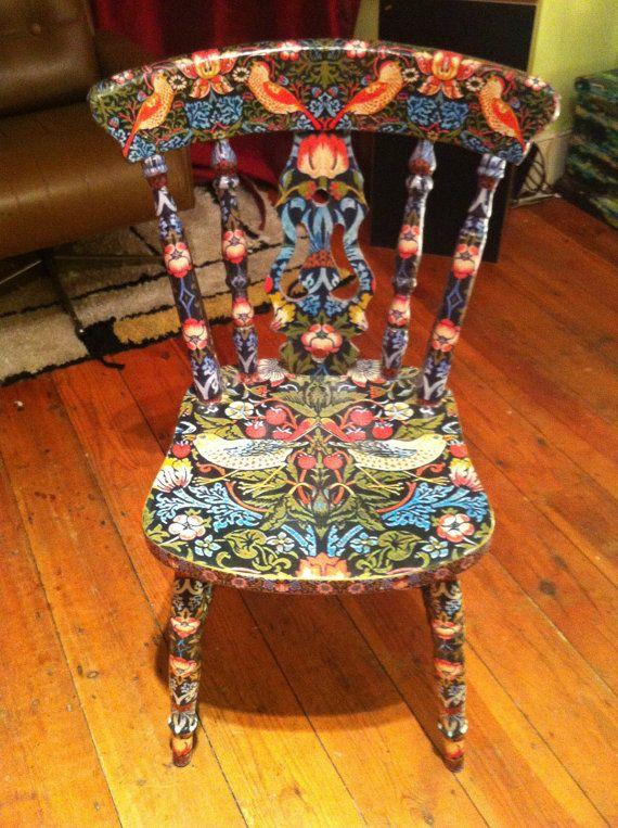 25 best Decoupage chair ideas on Pinterest