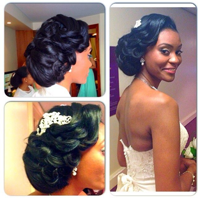 25 Best Ideas About Black Wedding Hairstyles On Pinterest Black