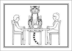 1000+ images about the tiger who came to tea on Pinterest