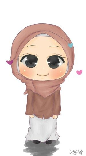 Cute little muslimah  Jilbab  Pinterest  Muslim Islam