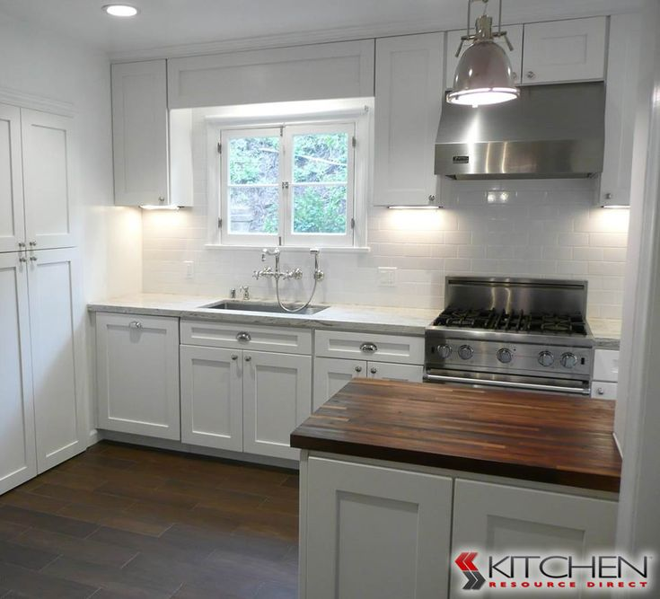 Modern Farmhouse Style With White Cabinets Cup Pulls And