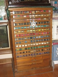 31 best images about Antique Thread Cabinets.  on ...