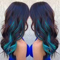 17 Best ideas about Blue Hair Streaks on Pinterest | Blue ...