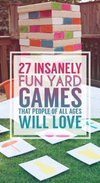 196 best images about Outdoor Games Adults on Pinterest ...