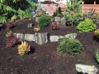 Small Natural Stone Retaining Wall   Russell Timberline ...