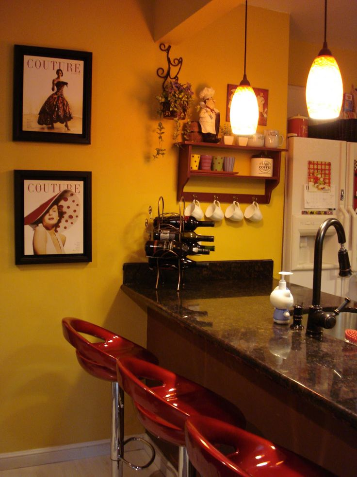 25 best ideas about Cafe themed kitchen on Pinterest
