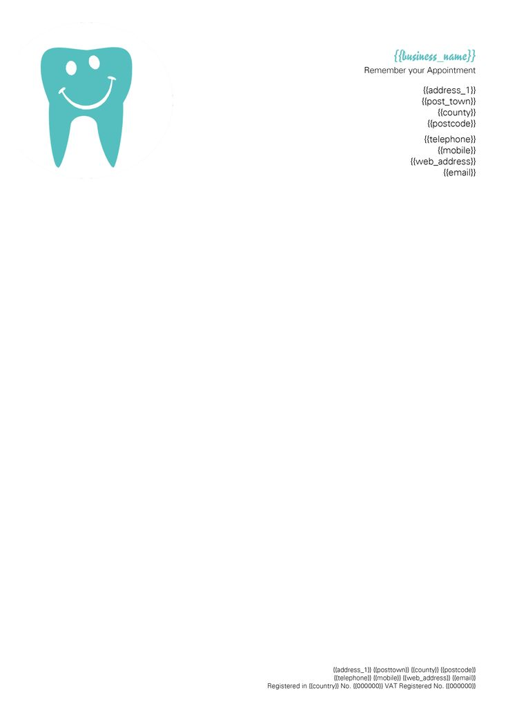 Dentist Letterhead More  Pinterest