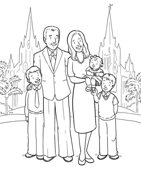 Image result for happy mormon families