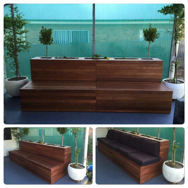 1000 Ideas About Planter Bench On Pinterest London