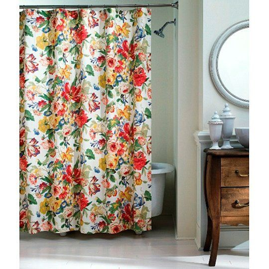 25 Best Ideas About Floral Shower Curtains On Pinterest