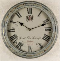 French Country Metal Wall Clock | Clocks | Pinterest ...
