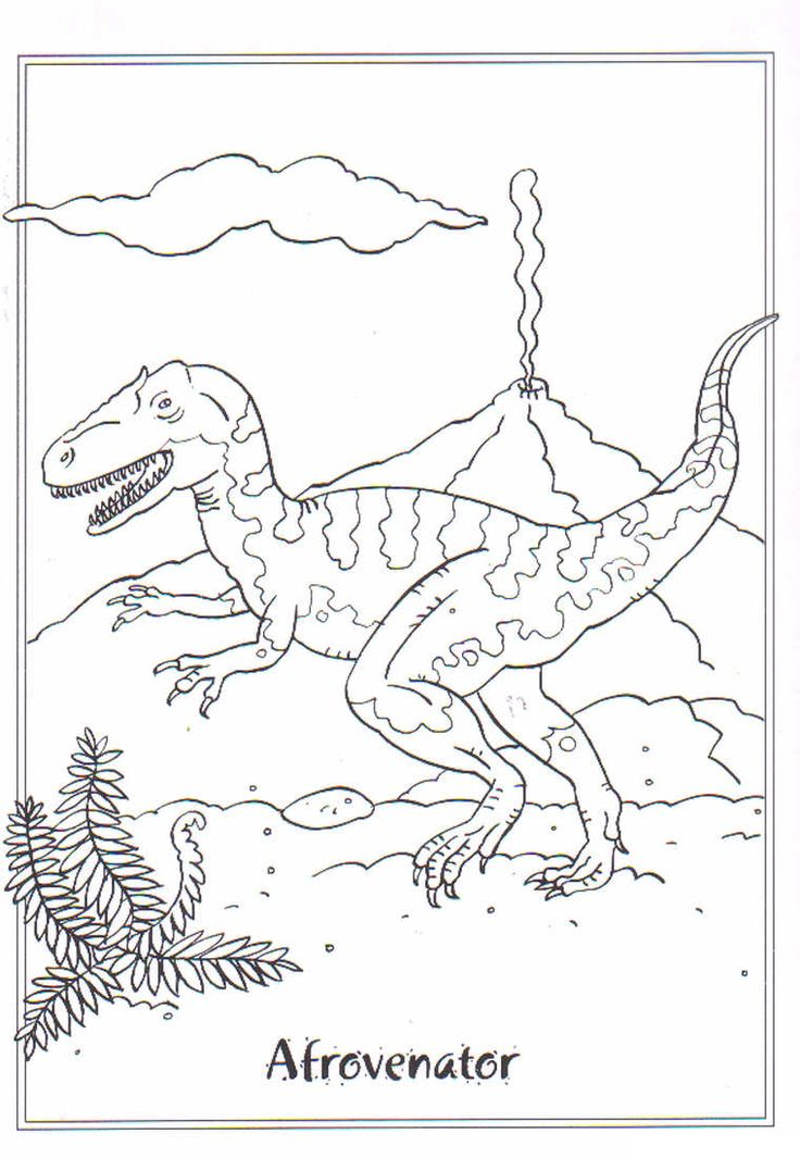 13 best images about Dinosauri: Disegni da Colorare on