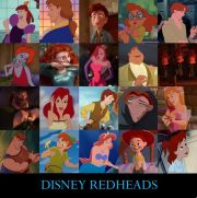 disney redheads nuts4books9