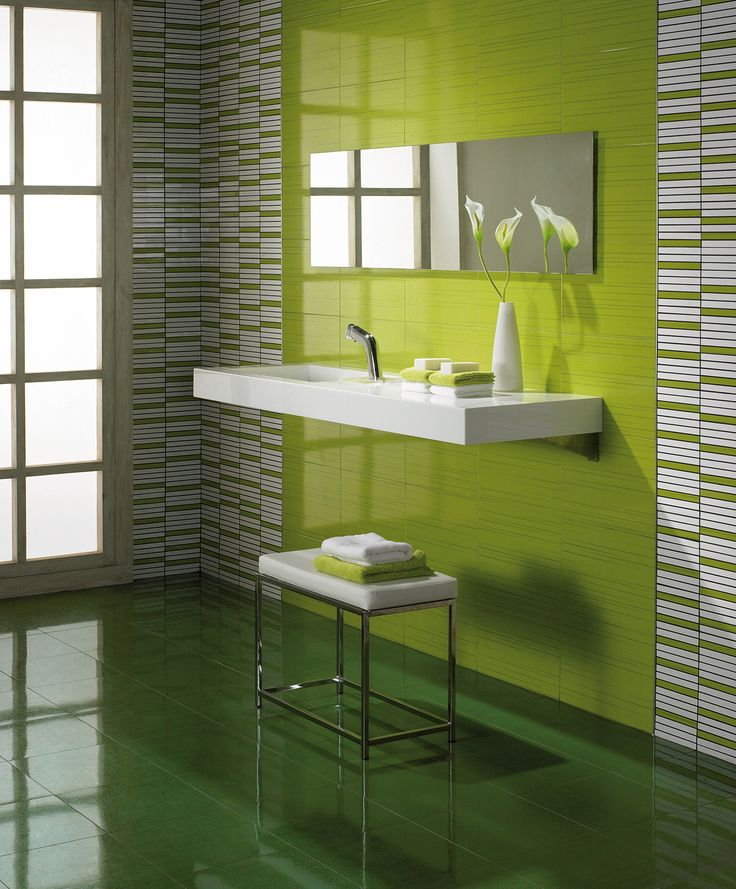 25 best ideas about Lime green bathrooms on Pinterest