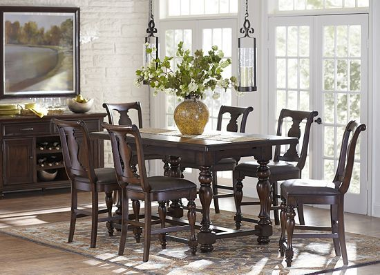 Morningside Counter Height Dining set at Havertys