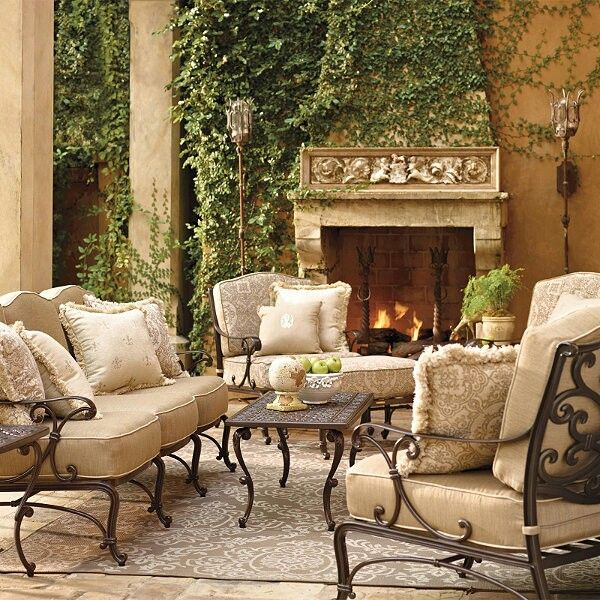 Yes please Beautiful outdoor space  PorchPatio