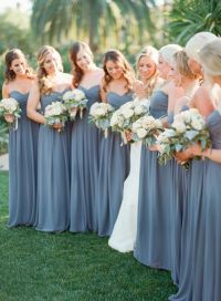 20+ best ideas about Dusty Blue Bridesmaid Dresses on