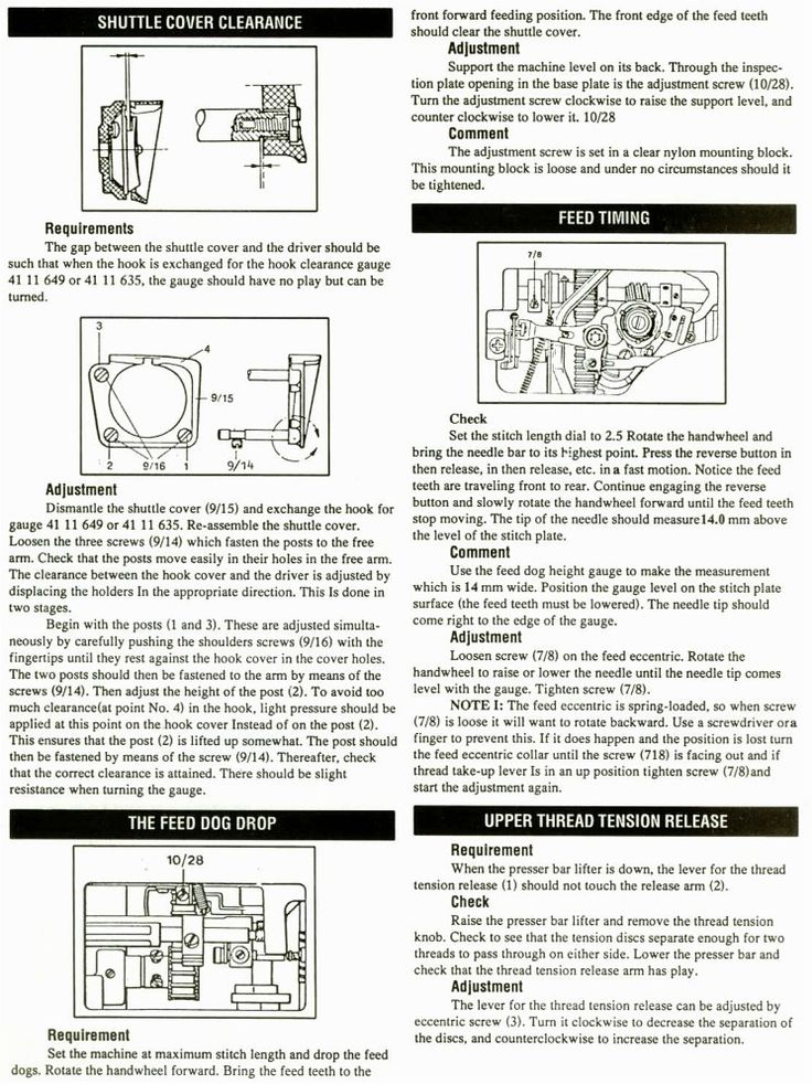 32 best images about Sewing machine maintenance and repair