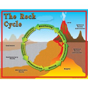 Rock Cycle Poster | Science Anchor Charts | Pinterest | Rocks, Ps and Earth