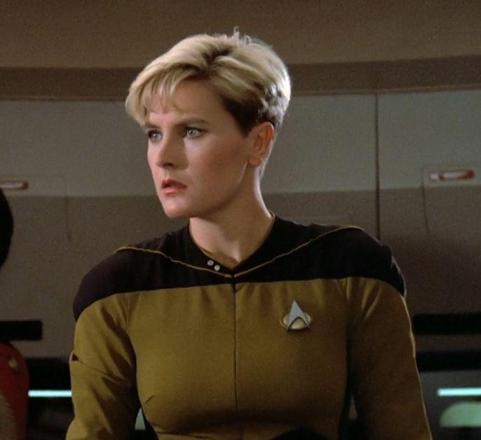 Denise Crosby Haircut In Star Trek Next Generation