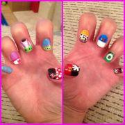 disney nails nail art - mickey
