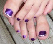 ideas purple toe