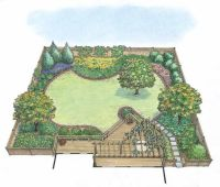 25+ best ideas about Landscape plans on Pinterest