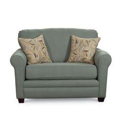 Twin Size Sleeper Sofa Mattress Restoration Hardware Maxwell Leather Chair | Lane Sunburst 769 Snuggler ...