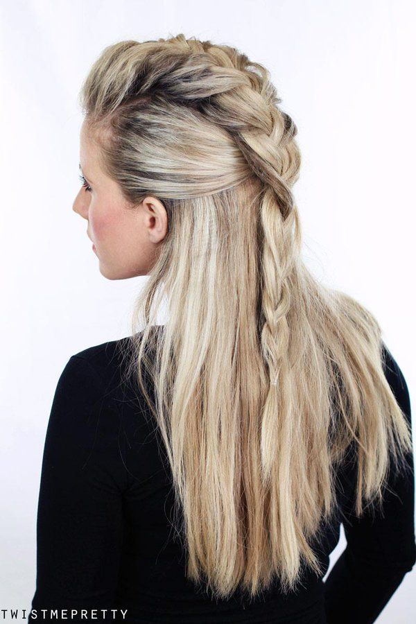 25 Best Ideas About Lagertha Hair On Pinterest Viking Hair