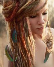 1000 ideas white girl dreads