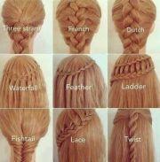 braids - twin girls