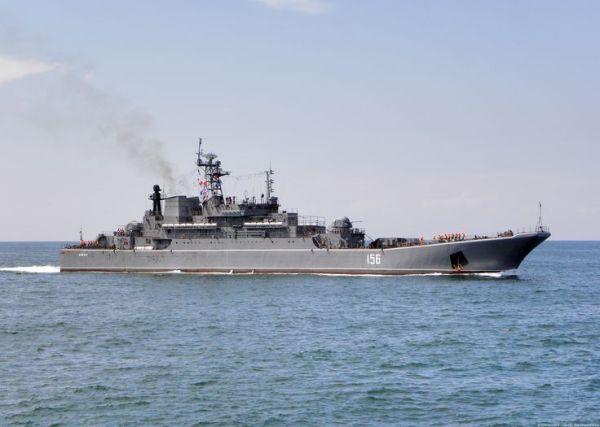Yamal RopuchaI class Large Landing Ship Russia Late