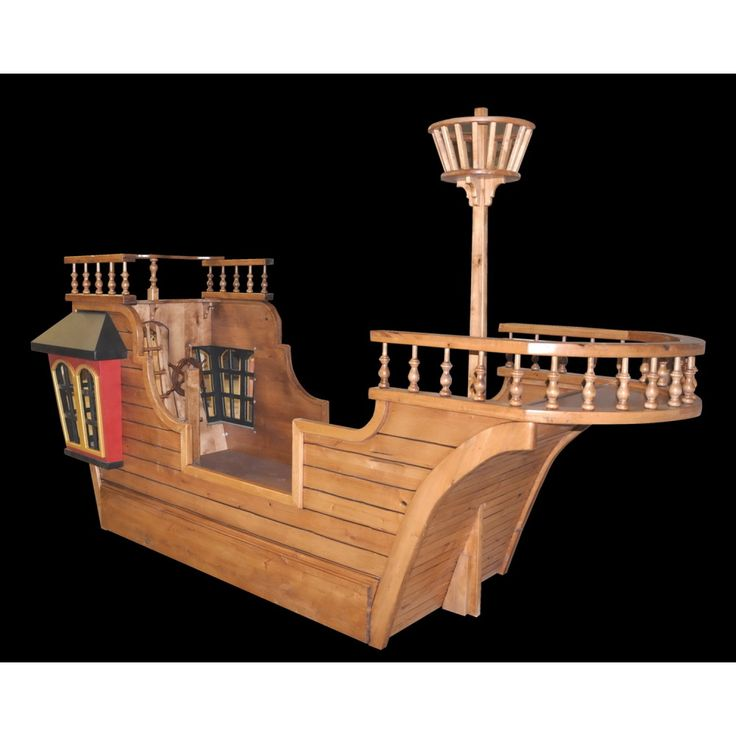 Pirate Ship Bed Plans  WoodWorking Projects  Plans