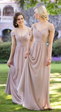 17 Best ideas about Peach Bridesmaid Gowns on Pinterest ...