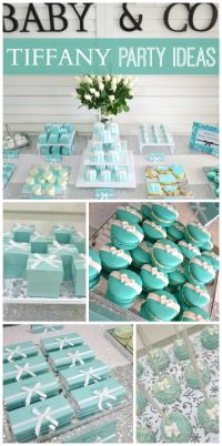 """TIFFANY & CO / Baby Shower """"Baby & Co Party"""" 