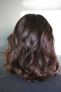 Hair Extensions, Chocolate brown hair color @knrstyling ...
