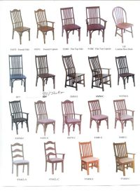 Chair Styles - Kinney Custom Designs | For my new dining ...