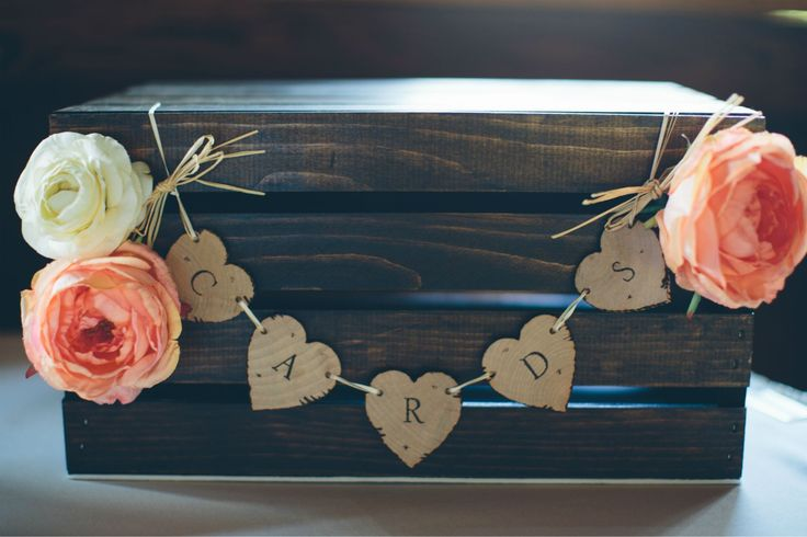 Our Wedding Card Box