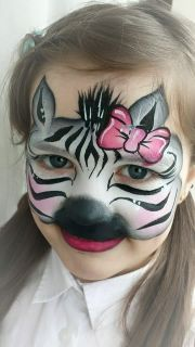 animal face paintings