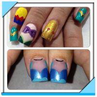 Disney Princess Nail Art   Nail Designs   Pinterest   Nail ...