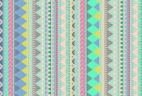 PASTEL AZTEC Canvas Print by Vasare Nar | Pastel ...