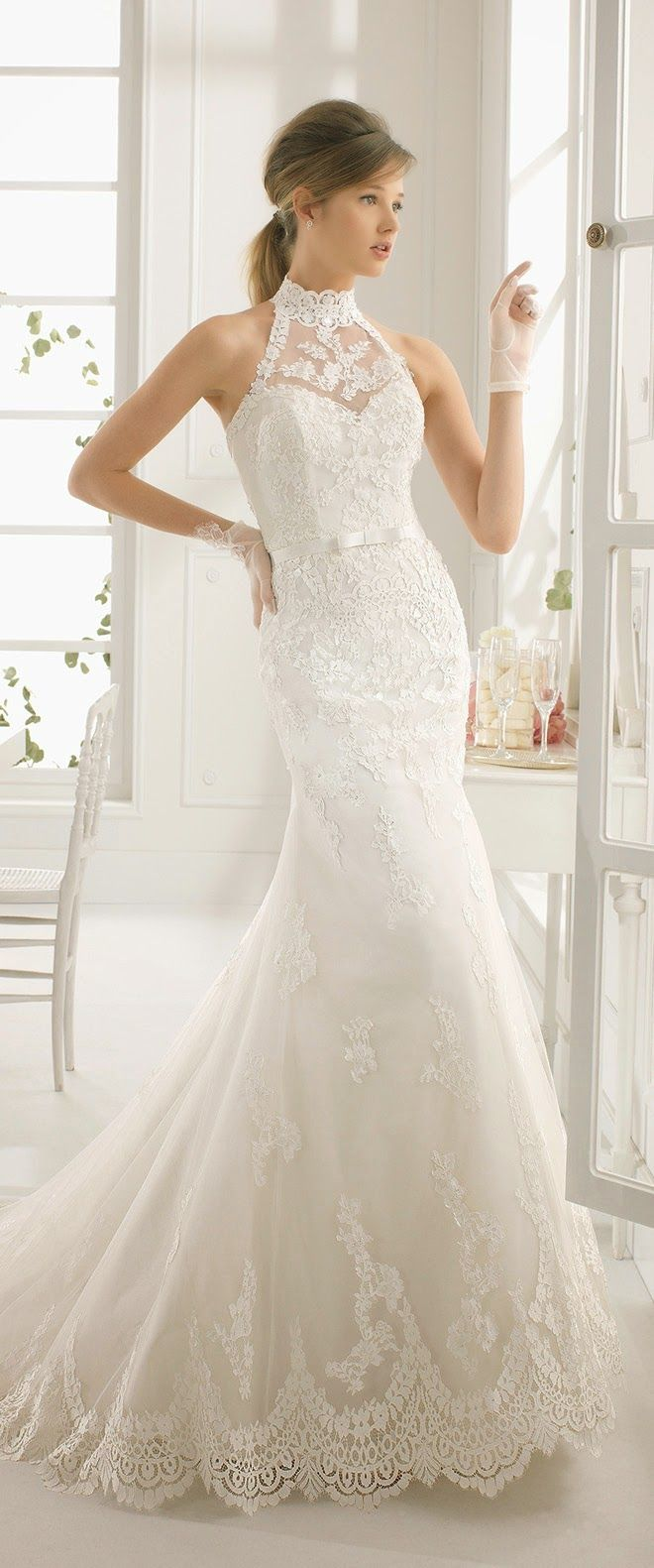 17 Best images about Halter Style Wedding Dresses on Pinterest  Gowns Neckline and Princess