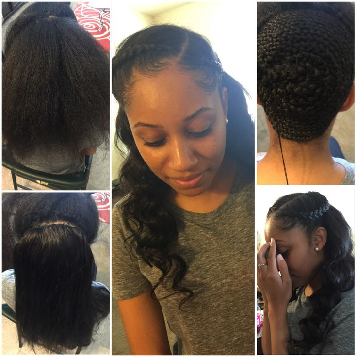 25 Best Ideas About Partial Sew In On Pinterest Full Head Weave