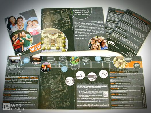 Capital Campaign Brochure For Austin Based Church Cost